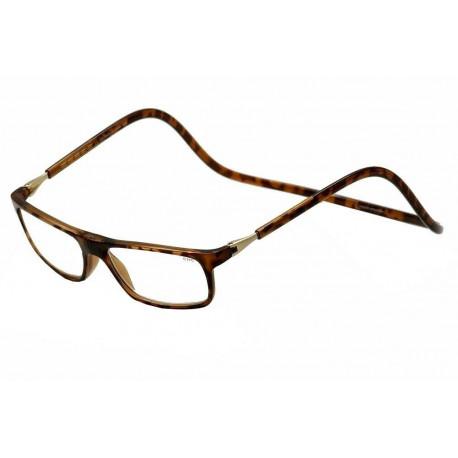 brýle s magnetickými obroučkami CLIC HAVANA, nové