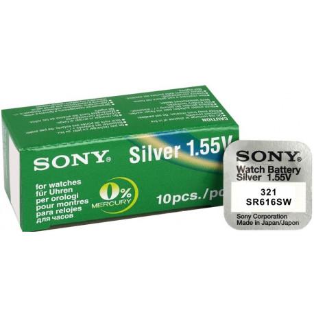 baterie do hodinek Sony 321 SR616SW, nová