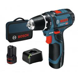 12V vrtací akumulátorový šroubovák Bosch GSR 12V-15 Professional, nový