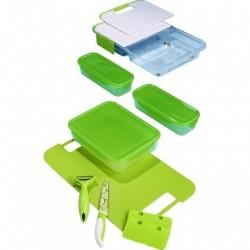 kuchyňský krájecí a úložný systém Genius Slice N Store, 14 kusů, nový