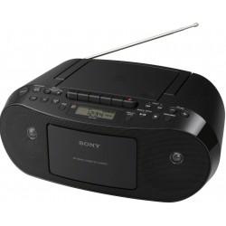 přenosný AM/FM radiomagnetofon s CD a MP3 SONY CFD-S50B, nový